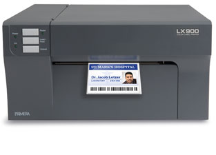 LX900 printing name badge tag and labels