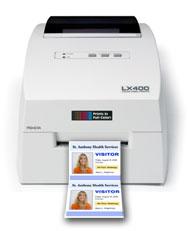 LX400 printing name tag